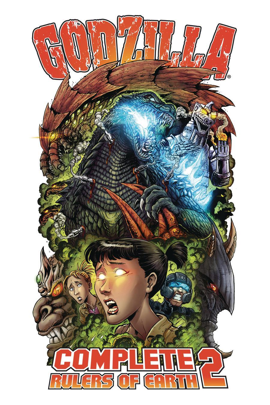 Godzilla Complete Rulers Of Earth Vol 2 TP