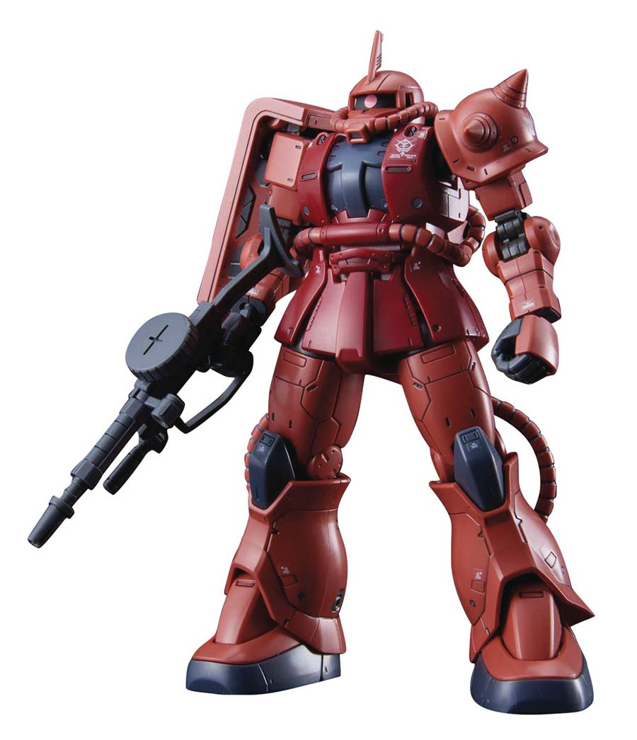 Gundam The Origin High Grade 1/144 Kit #024 MS-06S Zaku II (Red Comet Ver.)
