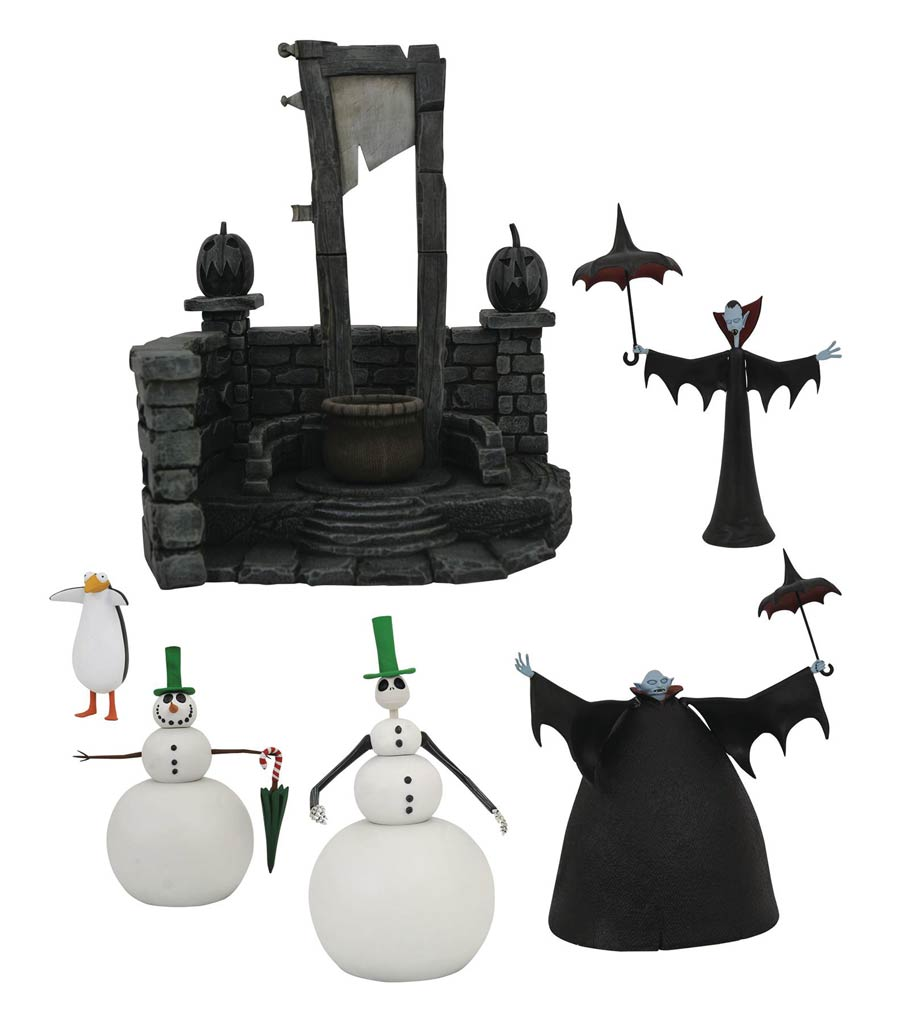 Nightmare Before Christmas Select Series 7 Action Figure Assortment Case