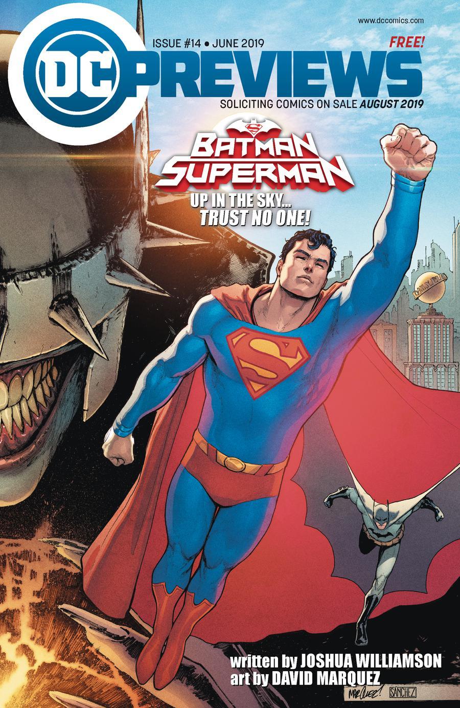 DC Previews #14 June 2019