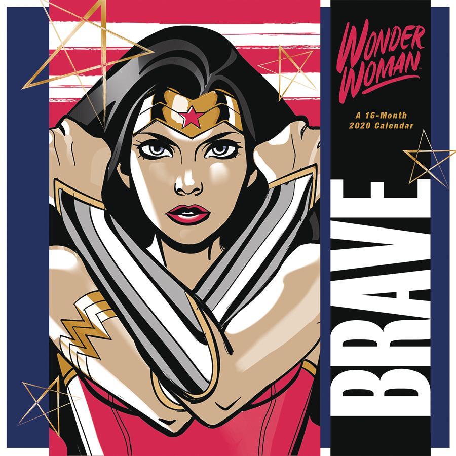 Wonder Woman 2020 Wall Calendar