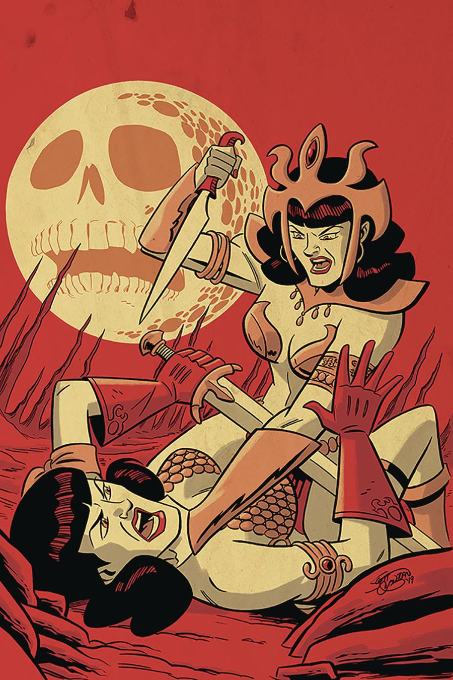 Bettie Page Unbound #3 Cover I Incentive Scott Chantler Virgin Cover