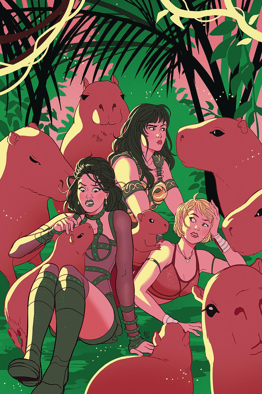 Xena Warrior Princess Vol 4 #3 Cover F Incentive Paulina Ganucheau Virgin Cover