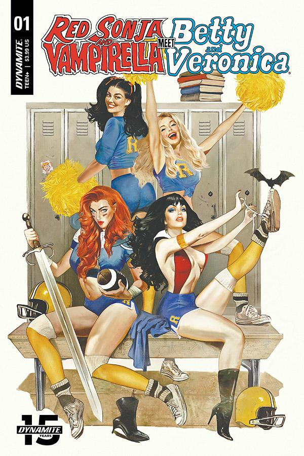 Red Sonja And Vampirella Meet Betty And Veronica #1 Cover L Regular Fay Dalton Cover CGC Graded
