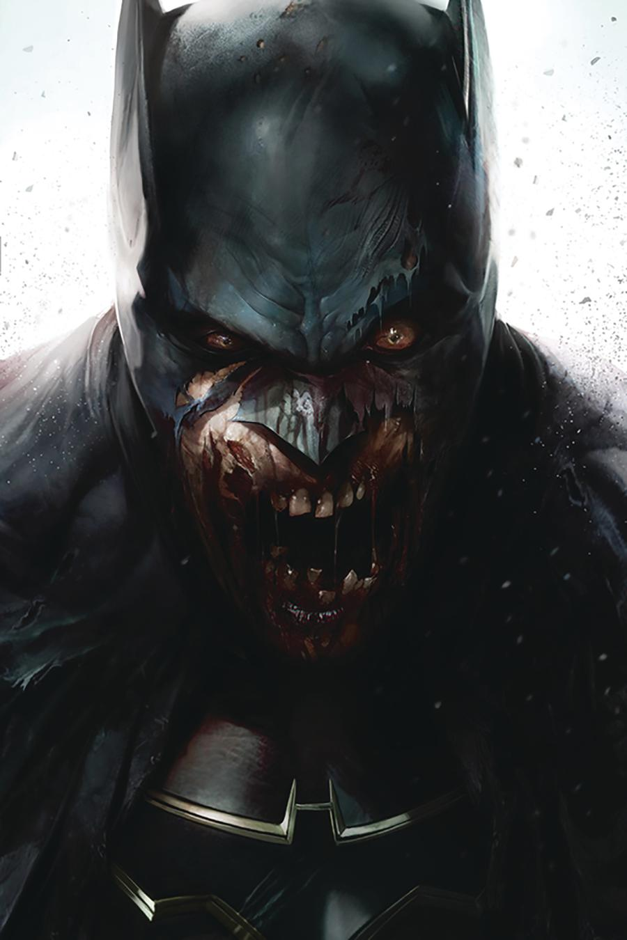 DCeased #1 Cover F DF Signed By Stefano Gaudiano