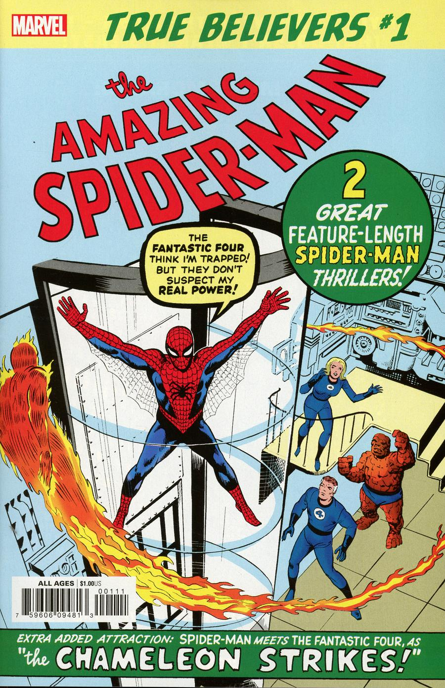 True Believers Amazing Spider-Man #1 (Reprint)