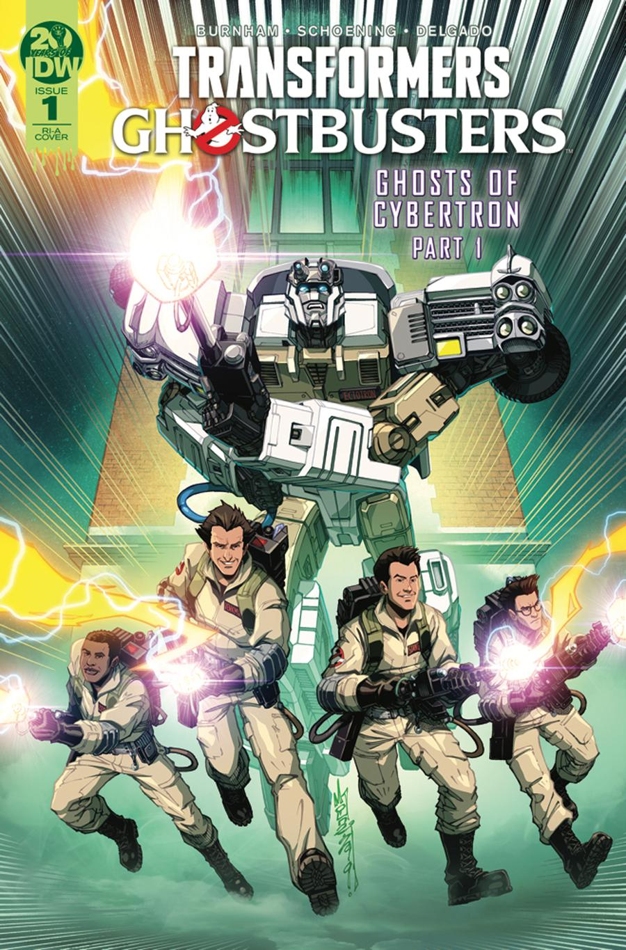 Transformers Ghostbusters #1 Cover C Incentive Alex Milne Variant Cover