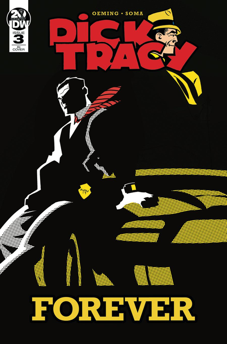 Dick Tracy Forever #3 Cover B Incentive Michael Avon Oeming Variant Cover