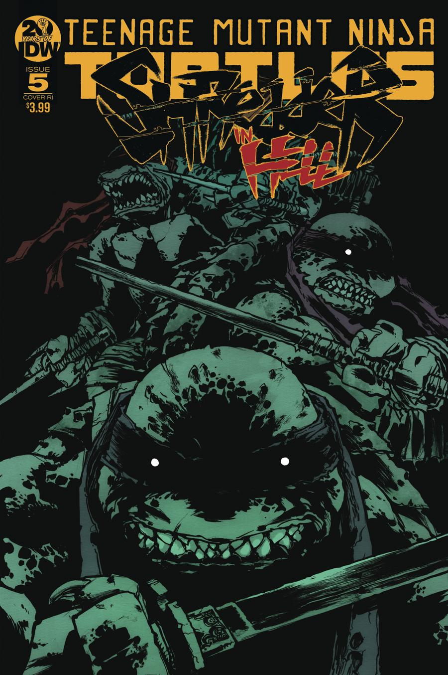 Teenage Mutant Ninja Turtles Shredder In Hell #5 Cover C Incentive Sophie Campbell Variant Cover
