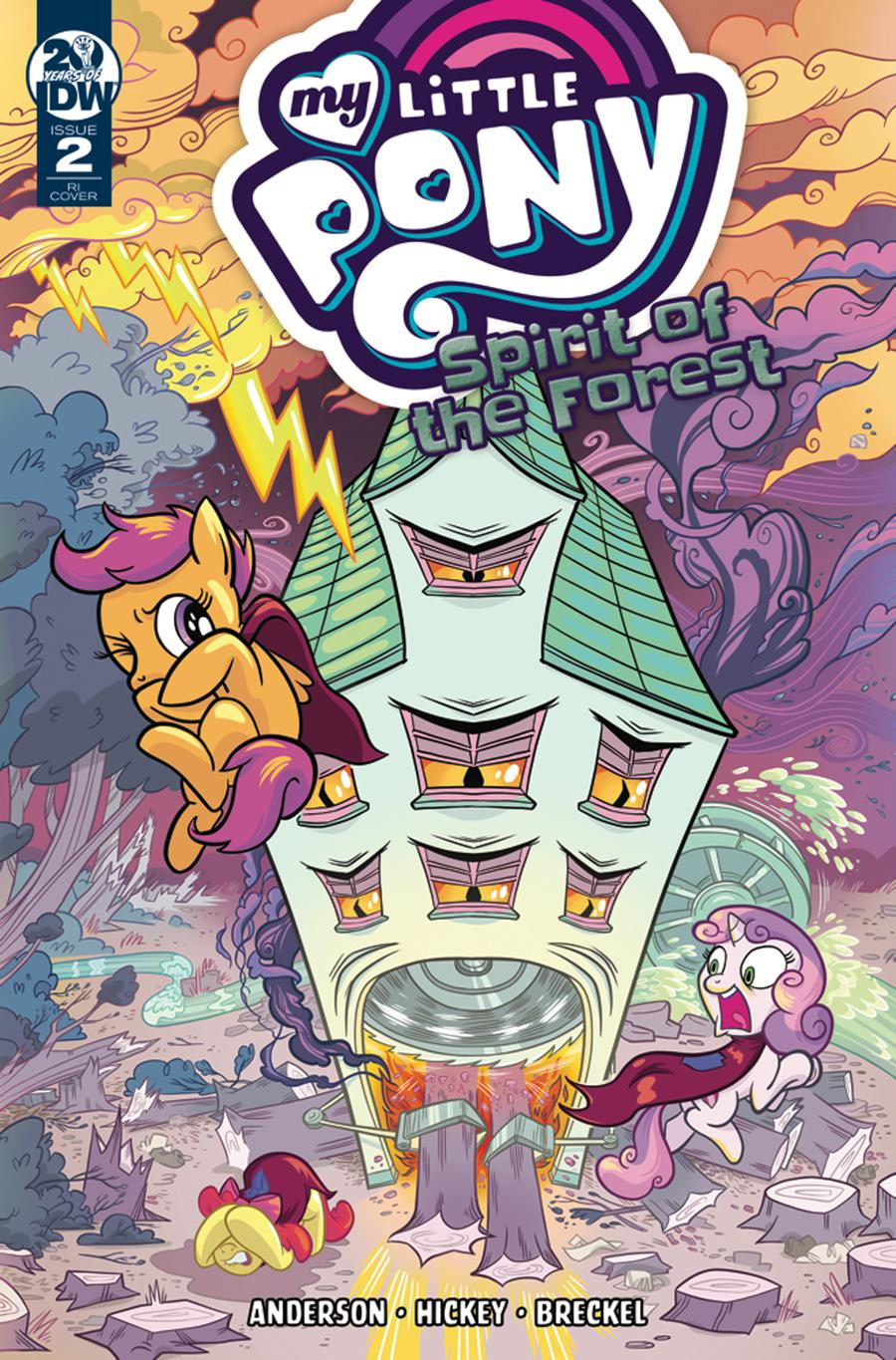 My Little Pony Spirit Of The Forest #2 Cover C Incentive Kate Sherron Variant Cvoer