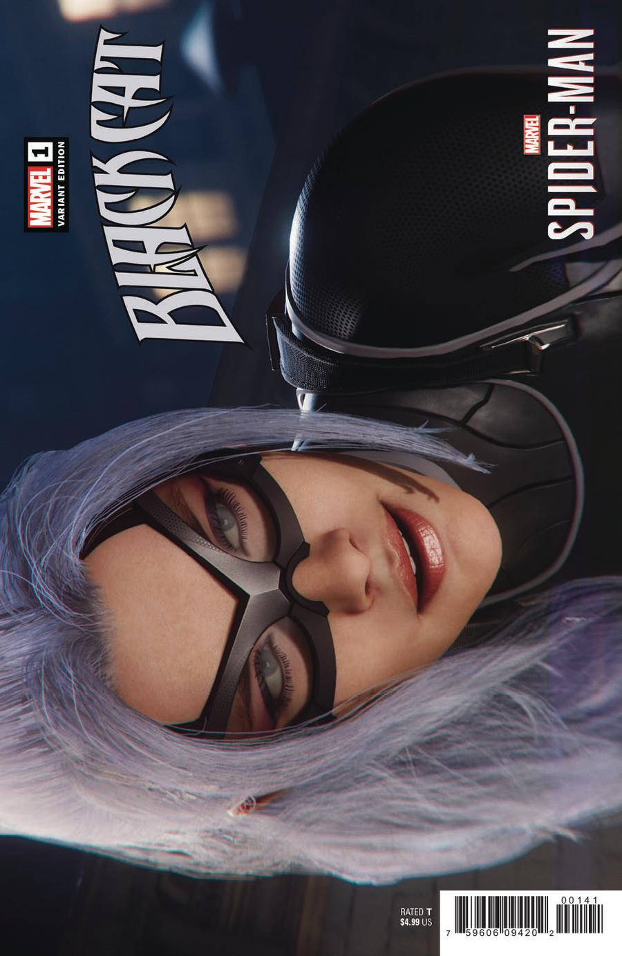 Black Cat #1 Cover F Incentive Game Variant Cover