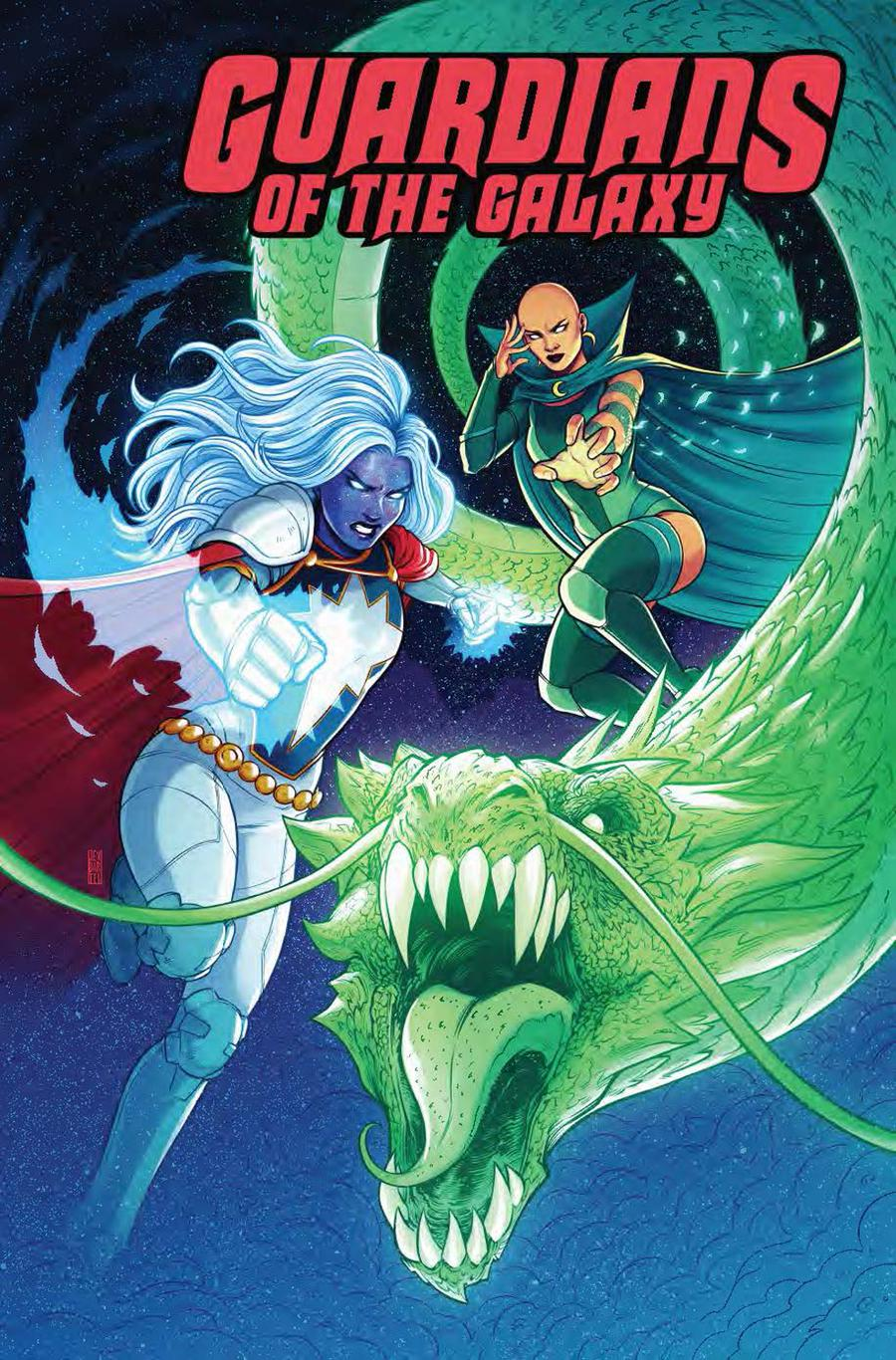 Guardians Of The Galaxy Vol 5 Annual #1 Cover D Incentive Jen Bartel Variant Cover