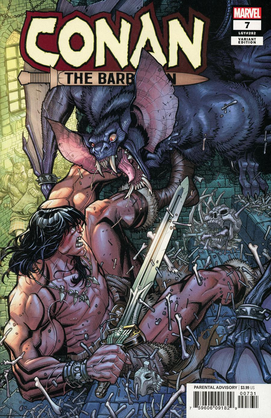 Conan The Barbarian Vol 4 #7 Cover C Incentive Nick Bradshaw Variant Cover