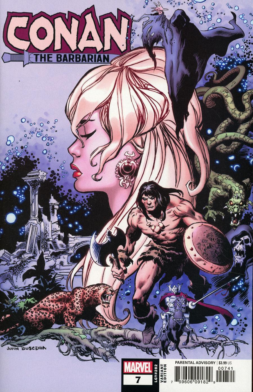 Conan The Barbarian Vol 4 #7 Cover D Incentive John Buscema Hidden Gem Variant Cover