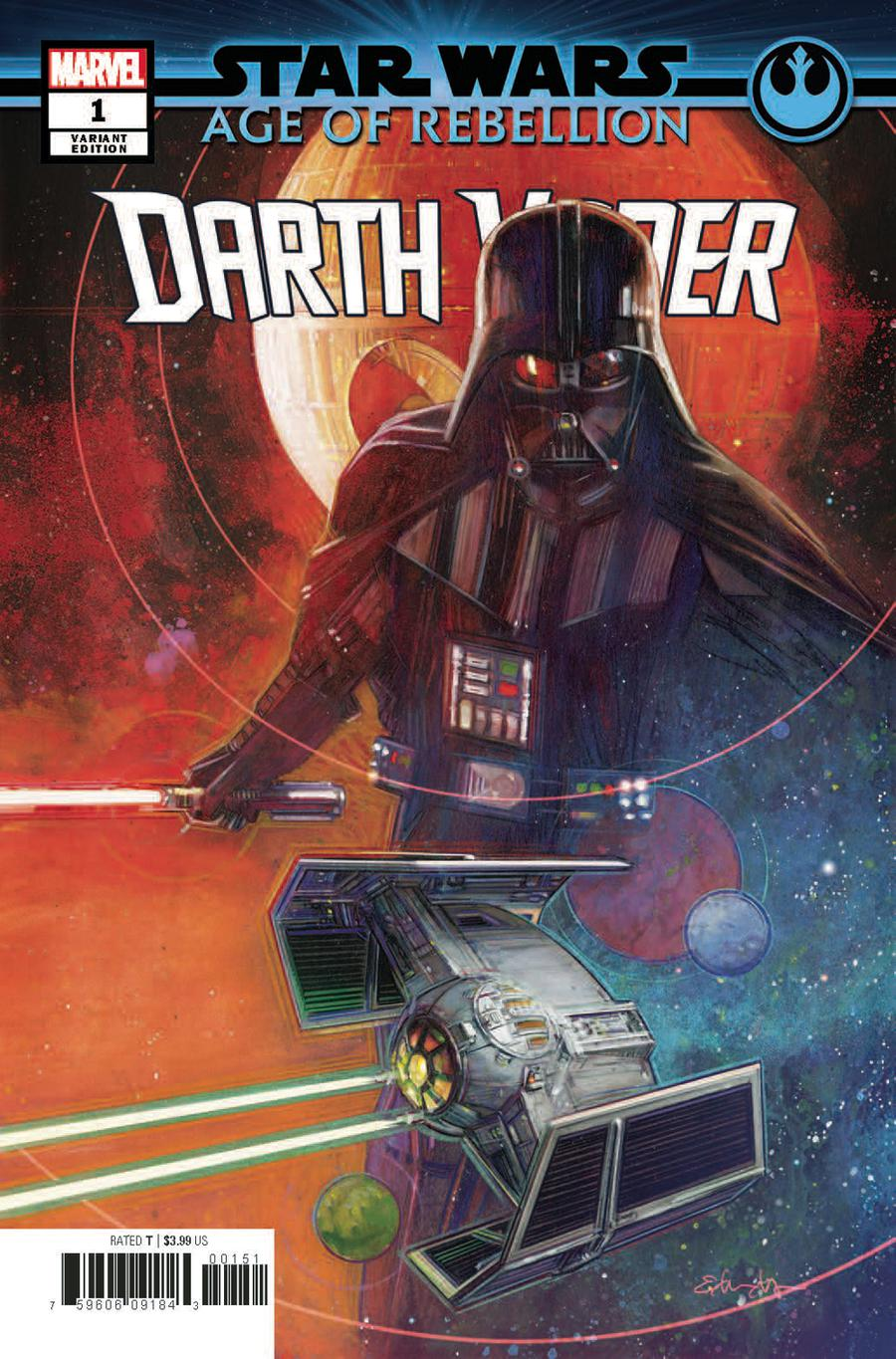 Star Wars Age Of Rebellion Darth Vader #1 Cover F Incentive Tommy Lee Edwards Variant Cover