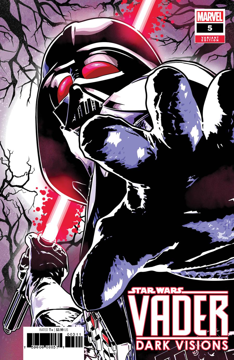 Star Wars Vader Dark Visions #5 Cover B Incentive Aco Variant Cover