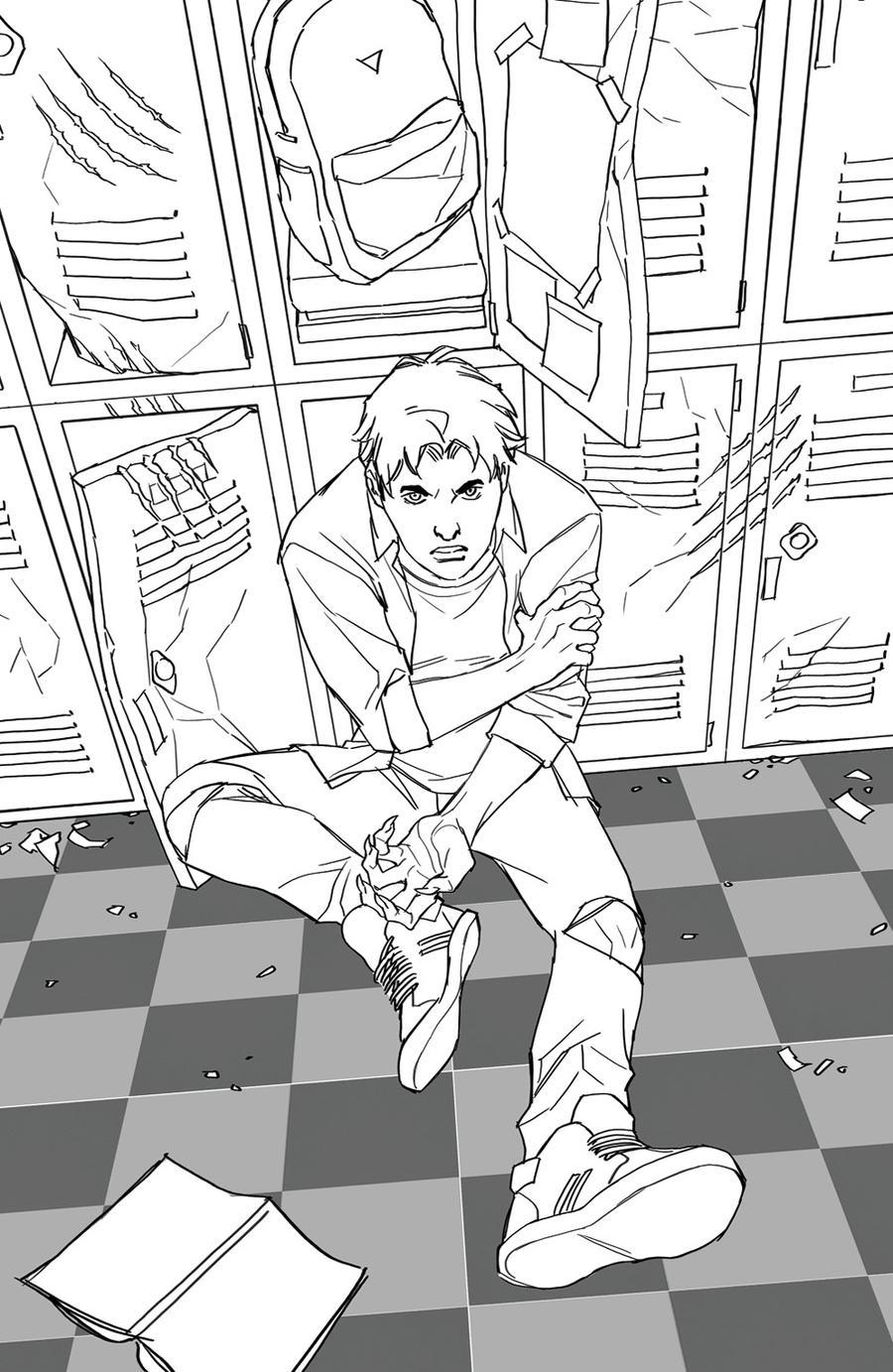 Buffy The Vampire Slayer Vol 2 #5 Cover H Incentive Yasmine Putri Sketch Variant Cover