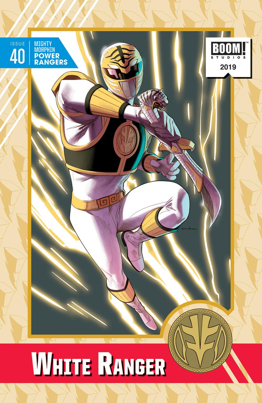 Mighty Morphin Power Rangers (BOOM Studios) #40 Cover D Incentive Kris Anka Virgin Variant Cover