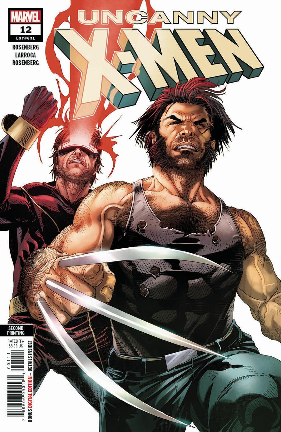 Uncanny X-Men Vol 5 #12 Cover C 2nd Ptg Variant Salvador Larroca Cover