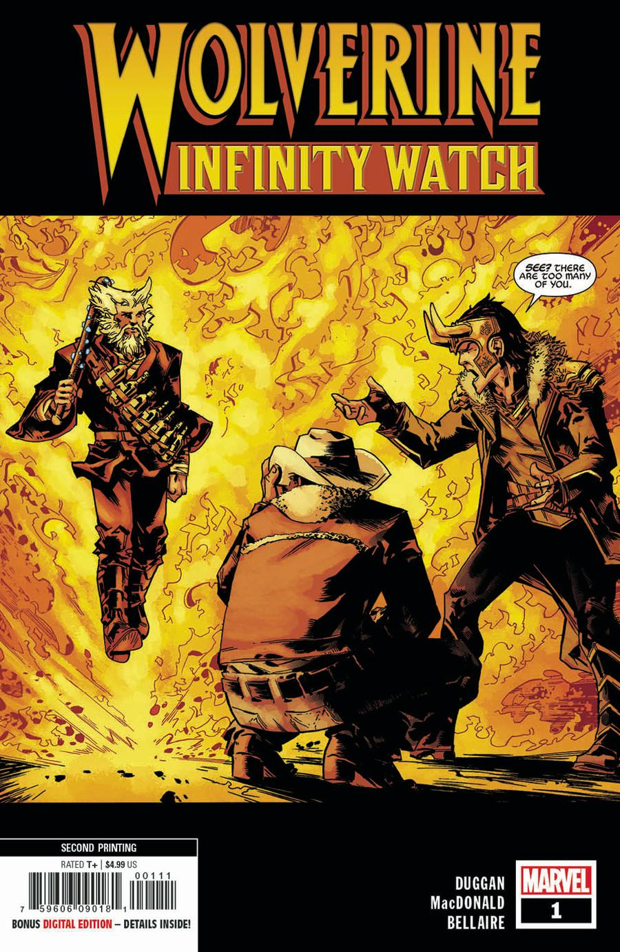 Wolverine Infinity Watch #1 Cover E 2nd Ptg Variant Andy MacDonald Cover