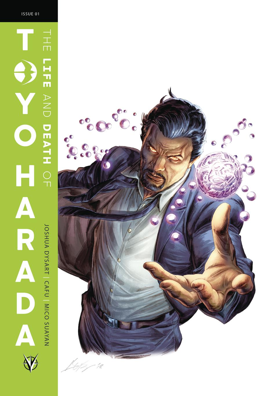 Life And Death Of Toyo Harada #1 Cover F Incentive Doug Braithwaite Glass Variant Cover