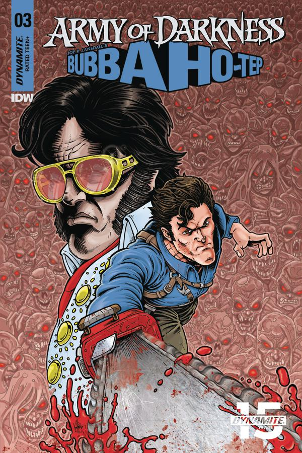 Army Of Darkness Bubba Ho-Tep #3 Cover D Variant Ken Haeser Color Variant Cover