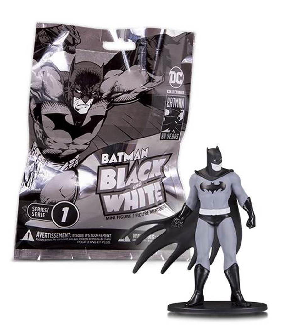 Batman Black & White Mini PVC Figure Blind Bag Wave 1
