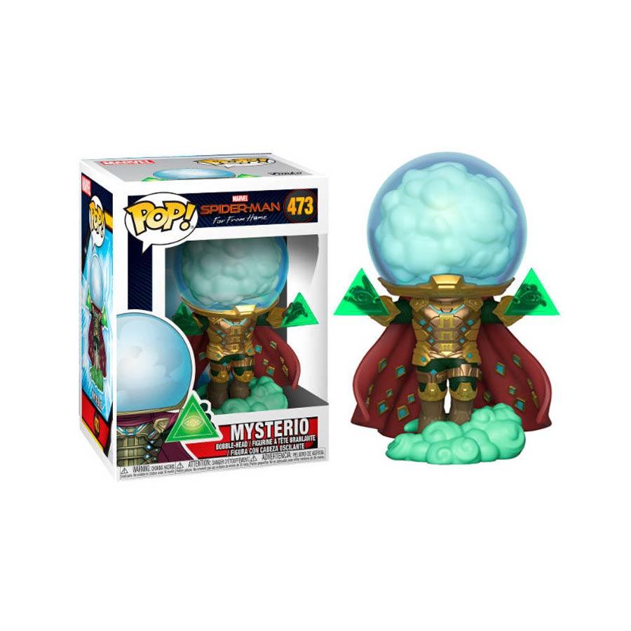 POP Marvel 473 Spider-Man Far From Home Mysterio Vinyl Bobble Head