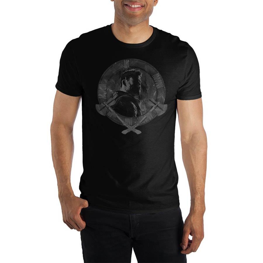Avengers Endgame Thor Stormbreaker Black T-Shirt Large