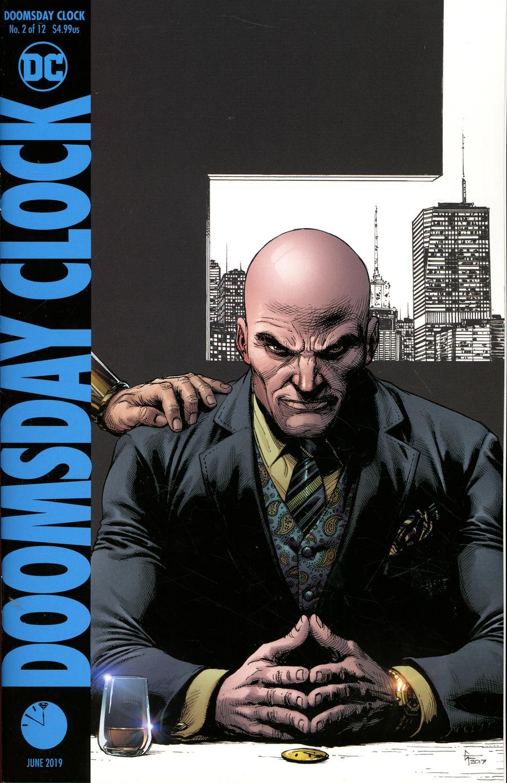 Doomsday Clock #2 Cover E Final Ptg Variant Gary Frank Cover
