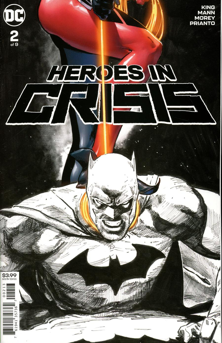 Heroes In Crisis #2 Cover D Final Ptg Variant Clay Mann Cover