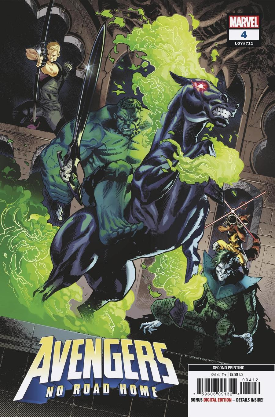 Avengers No Road Home #4 Cover C 2nd Ptg Variant Sean Izaakse Cover