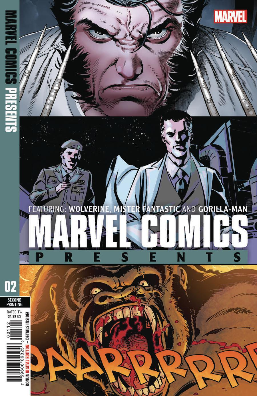 Marvel Comics Presents Vol 3 #2 Cover D 2nd Ptg Variant Paulo Siqueira Cover
