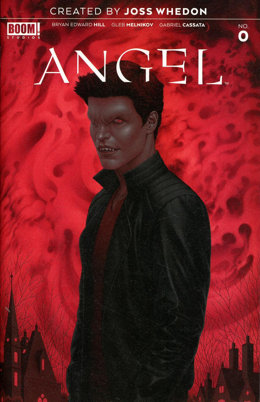 Angel Vol 4 #0 Cover B Incentive Thank You Variant Cover