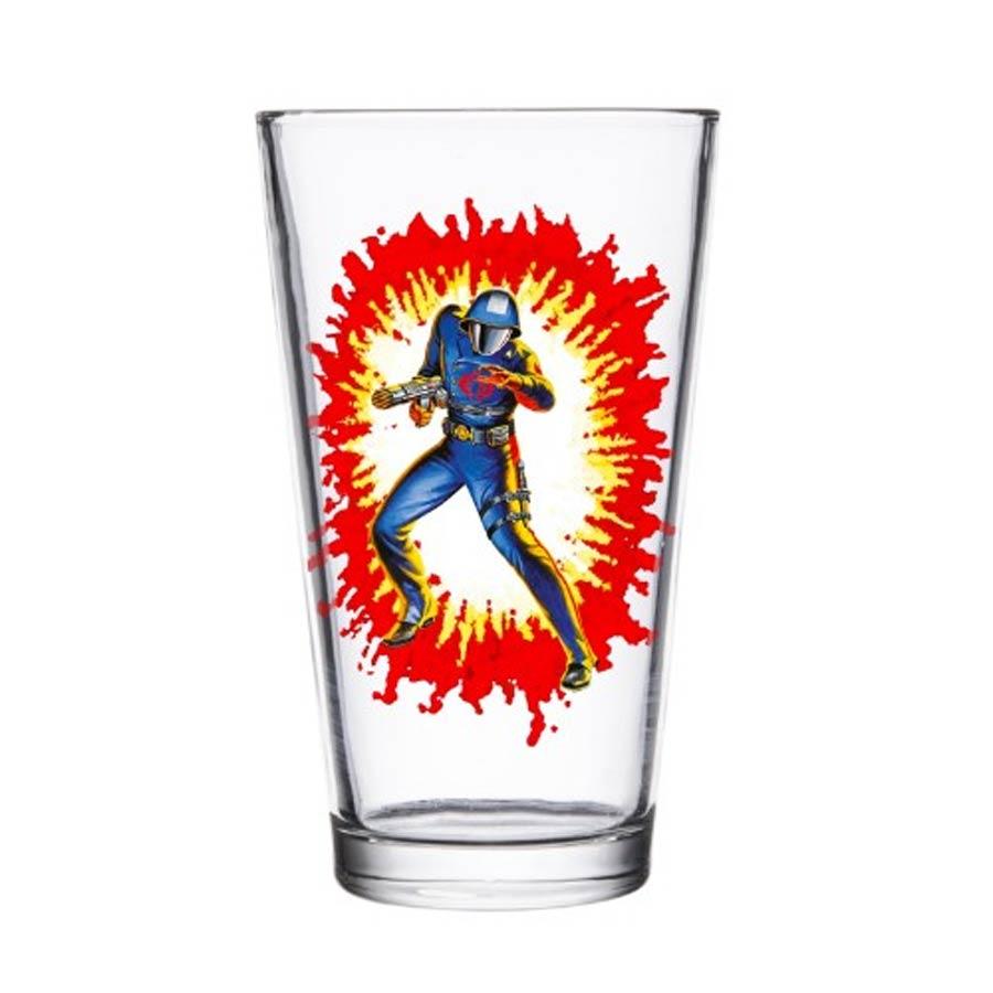 G.I. Joe Pint Glass - Cobra Commander