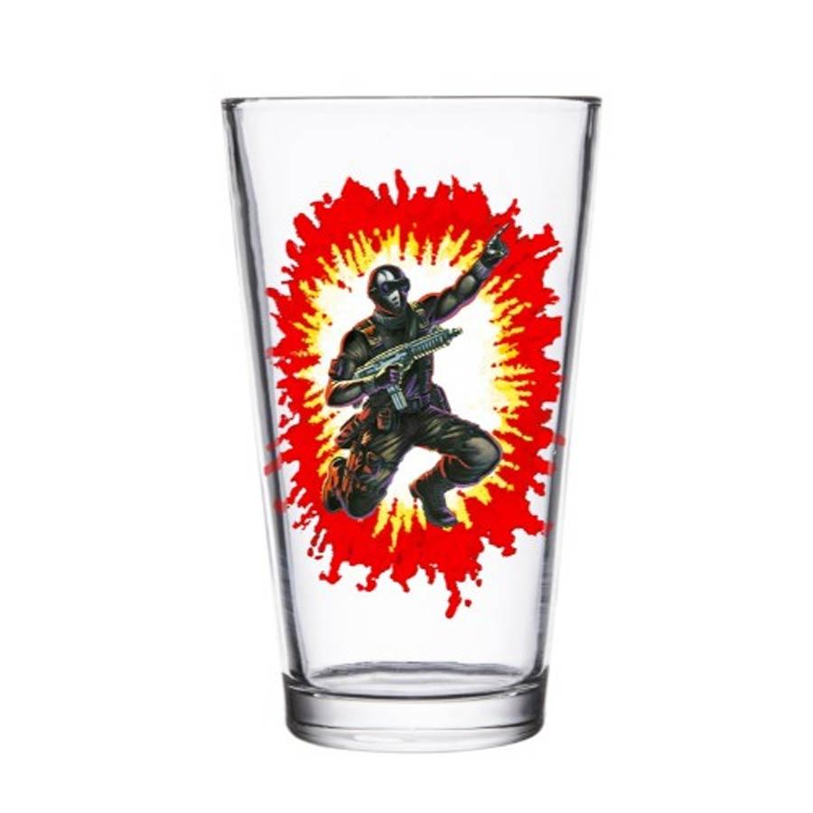 G.I. Joe Pint Glass - Snake Eyes