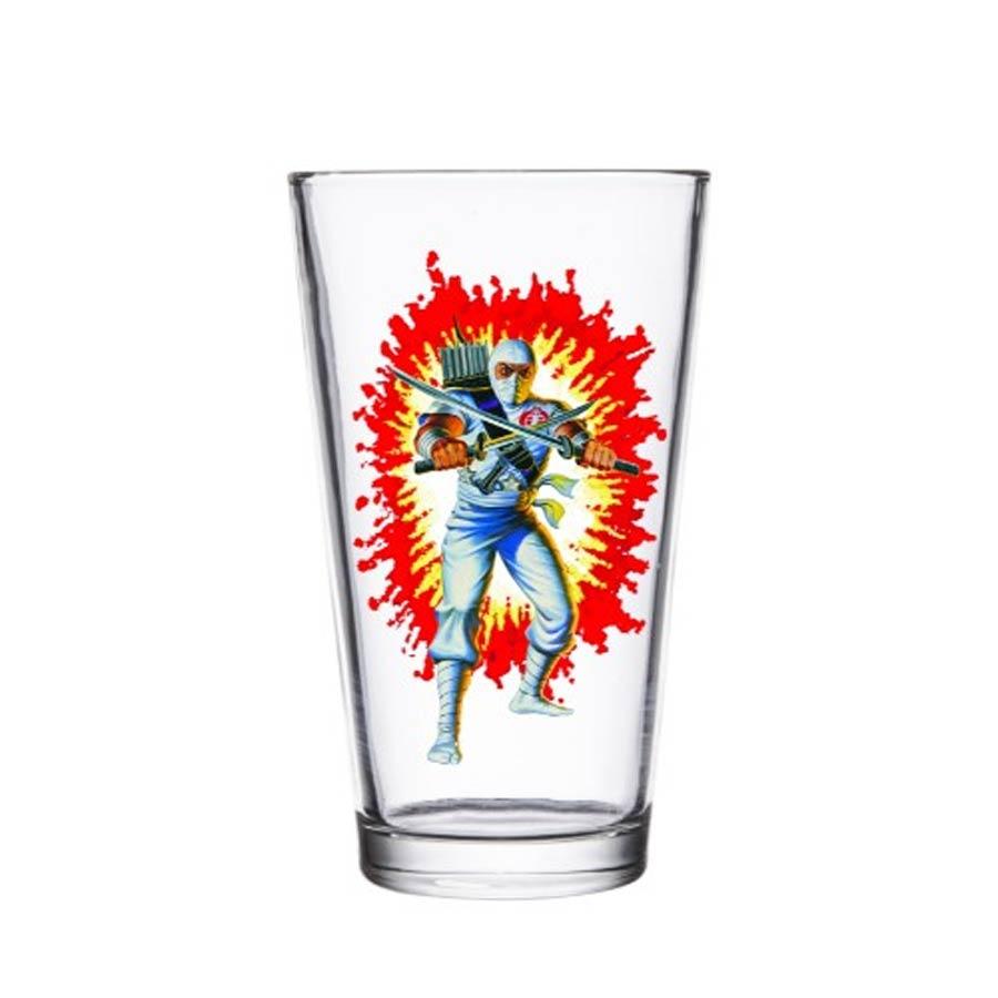 G.I. Joe Pint Glass - Storm Shadow