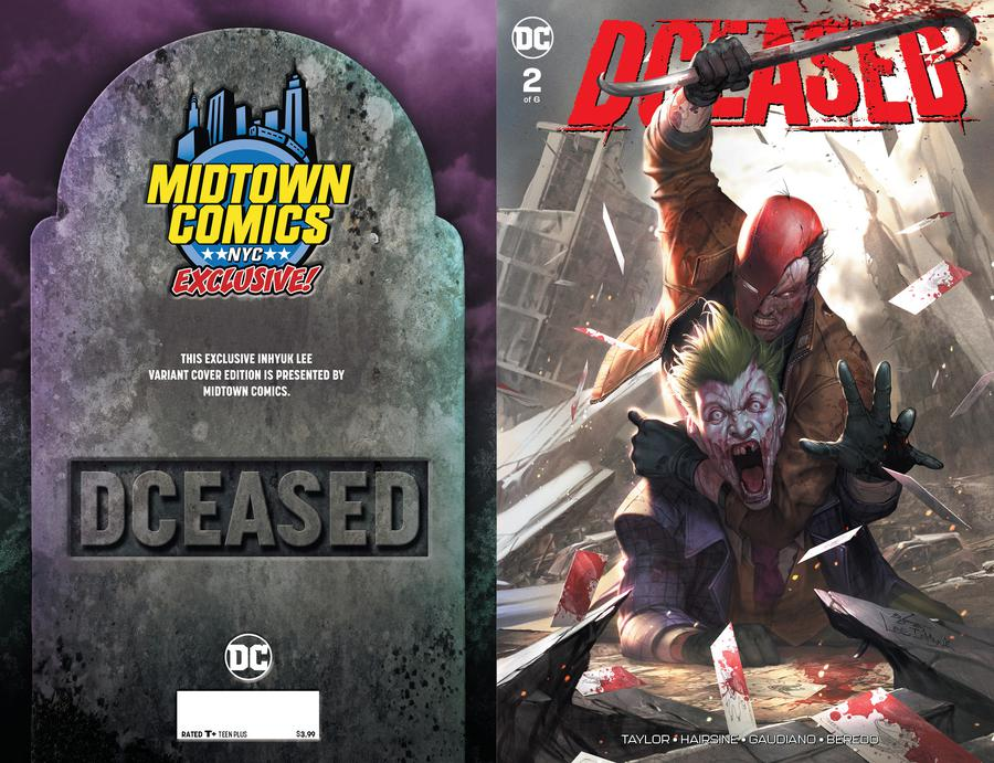 DCeased #2  Midtown Exclusive Cover A Inhyuk Lee Connecting Variant Cover