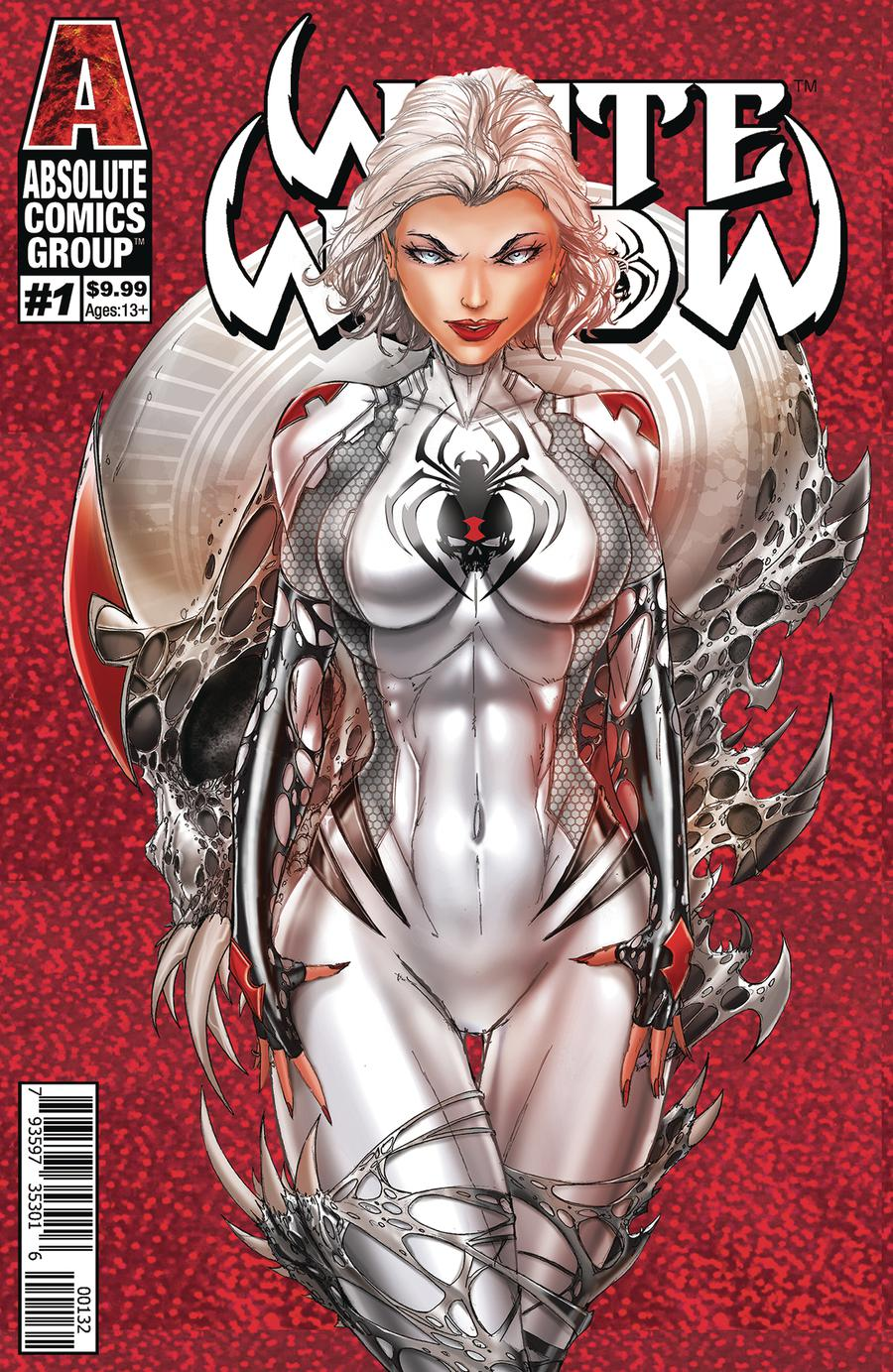 White Widow #1 Cover E 2nd Ptg Variant Jamie Tyndall C Cover
