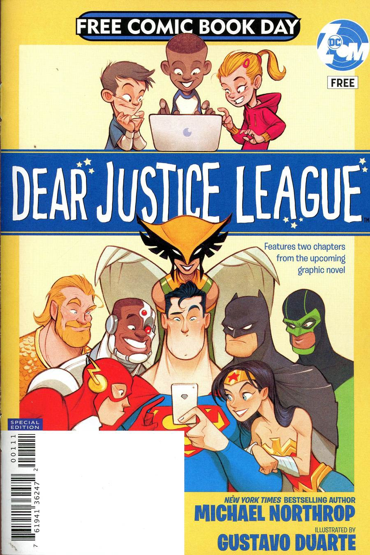 Dear Justice League Special Edition FCBD 2019