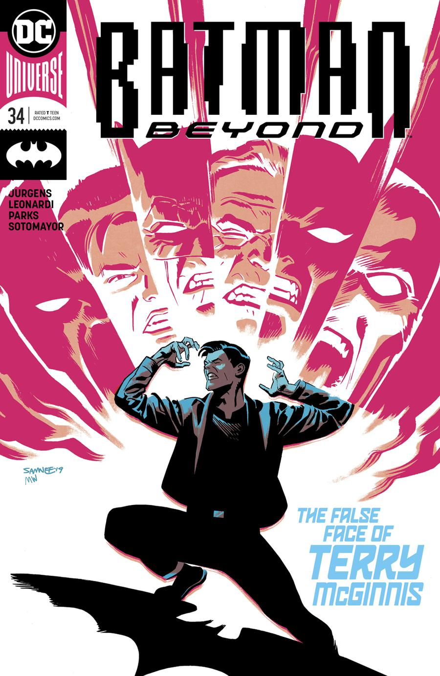 Batman Beyond Vol 6 #34 Cover A Regular Chris Samnee Cover