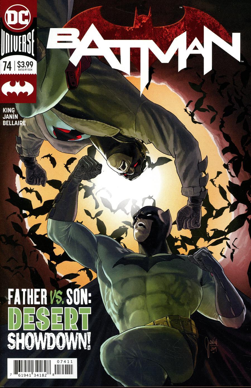 Batman Vol 3 #74 Cover A Regular Mikel Janin Cover
