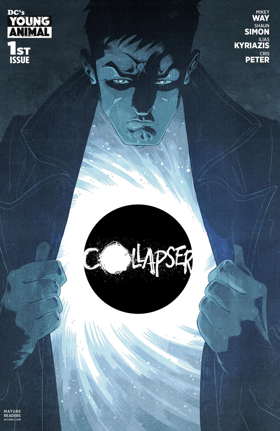 Collapser #1 Cover A Regular Ilias Kyriazis Cover