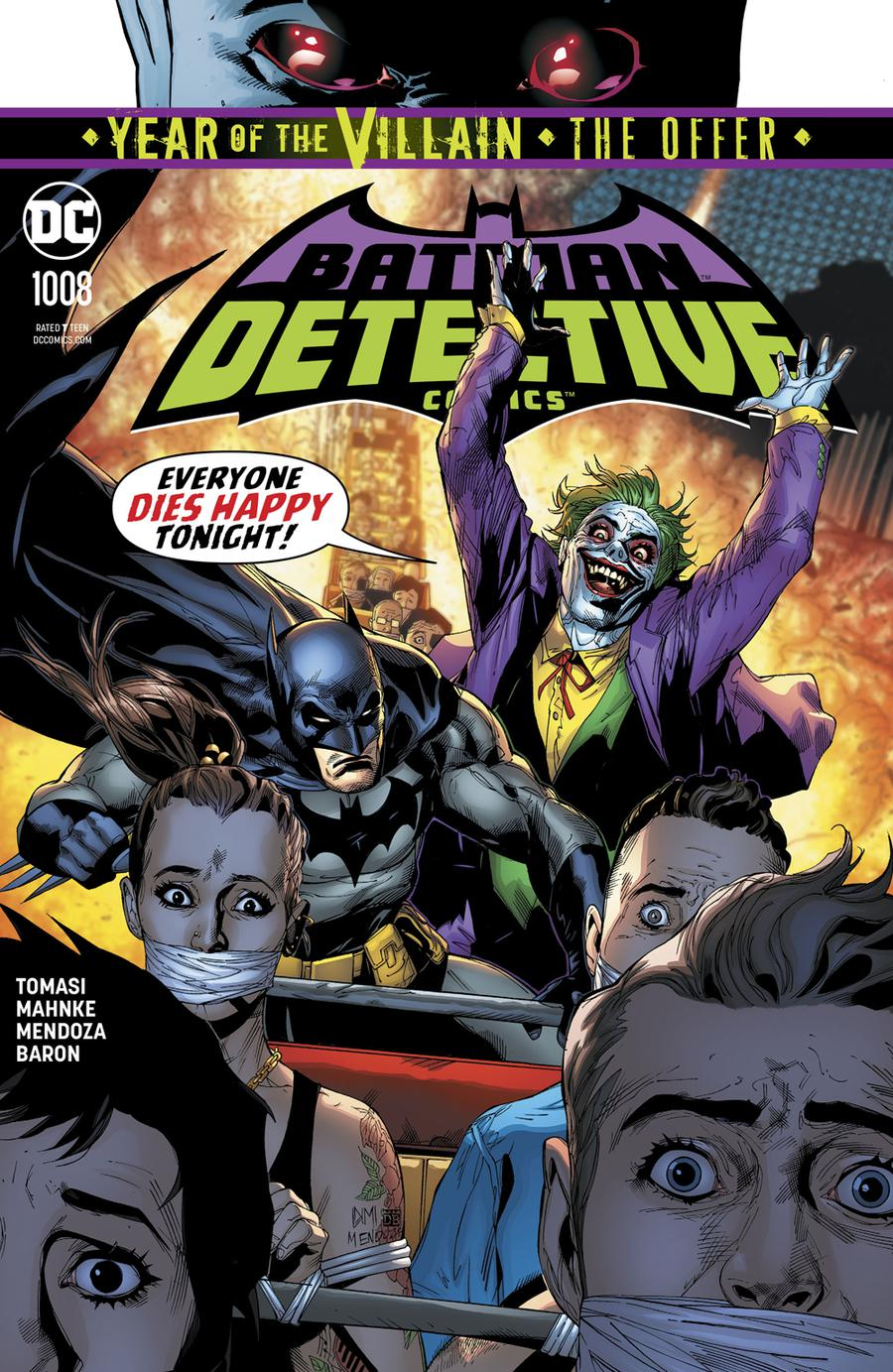 Detective Comics Vol 2 #1008 Cover A Regular Doug Mahnke & Jaime Mendoza Cover (Year Of The Villain The Offer Tie-In)