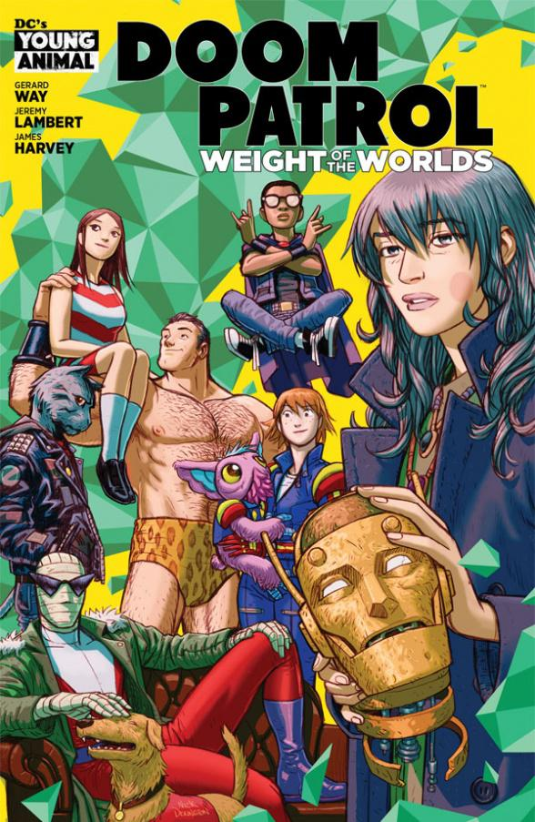 Doom Patrol Weight Of The Worlds #1 Cover A Regular Nick Derington Cover