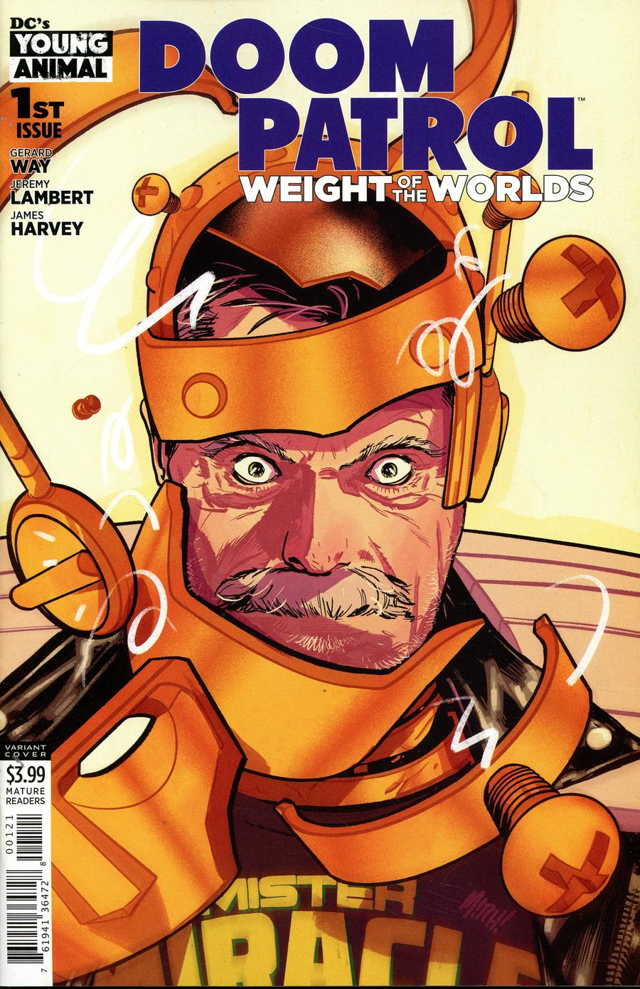 Doom Patrol Weight Of The Worlds #1 Cover B Variant Mitch Gerads Cover