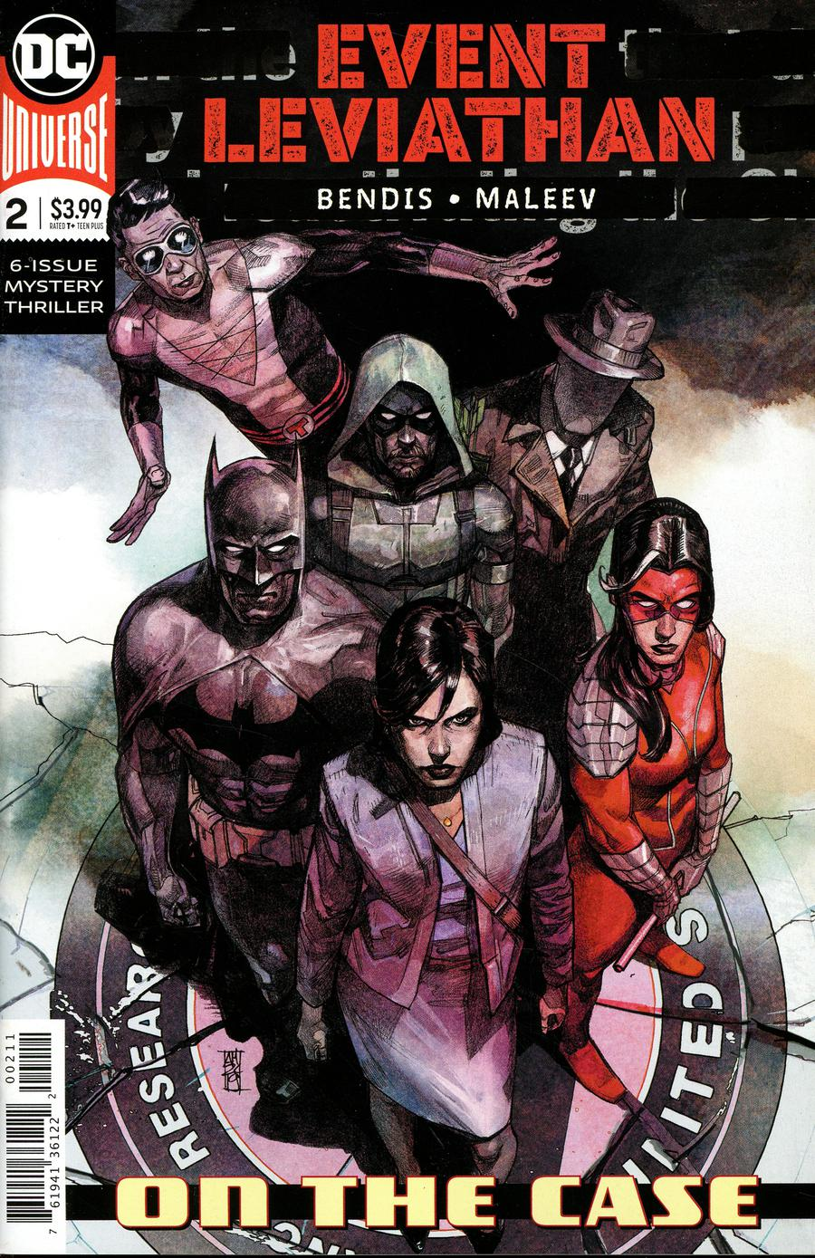 Event Leviathan #2 Cover A Regular Alex Maleev Cover