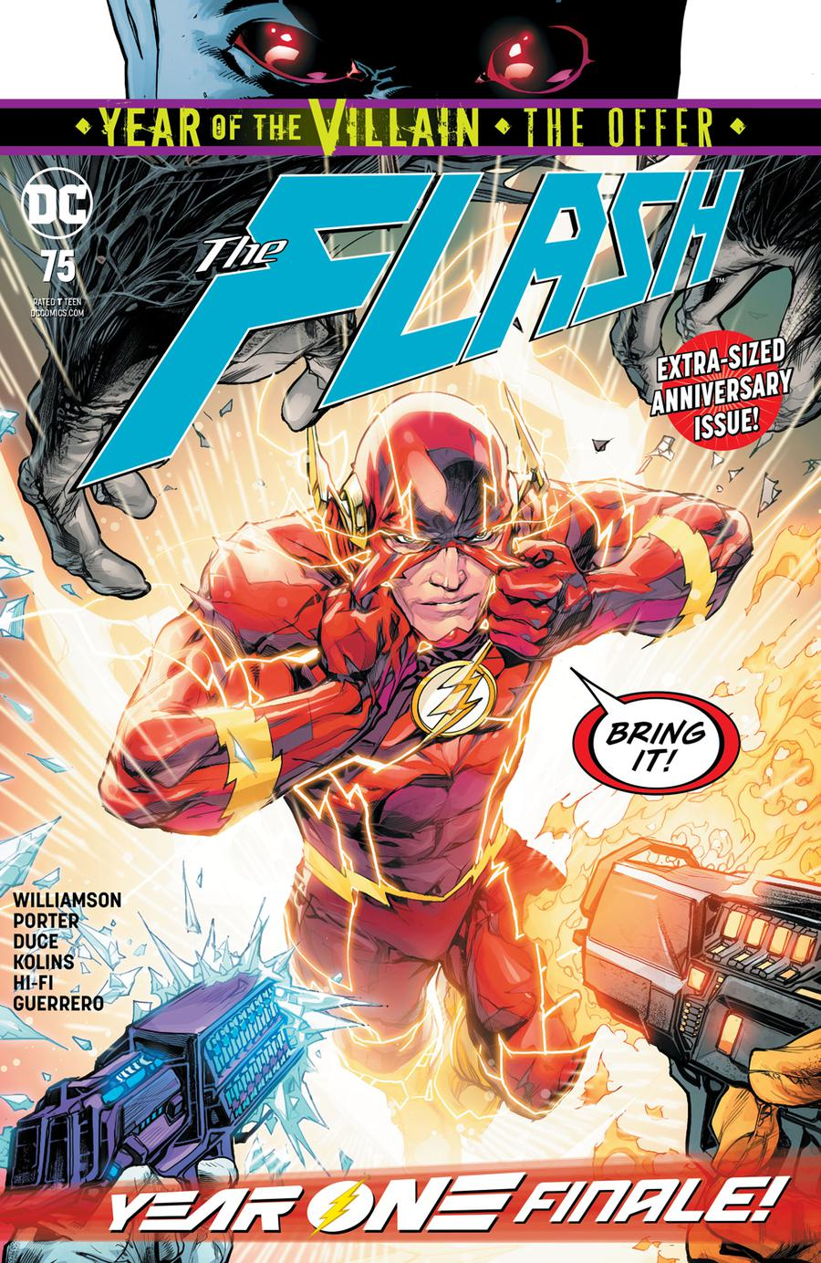 Flash Vol 5 #75 Cover A Regular Howard Porter Cover (Year Of The Villain The Offer Tie-In)