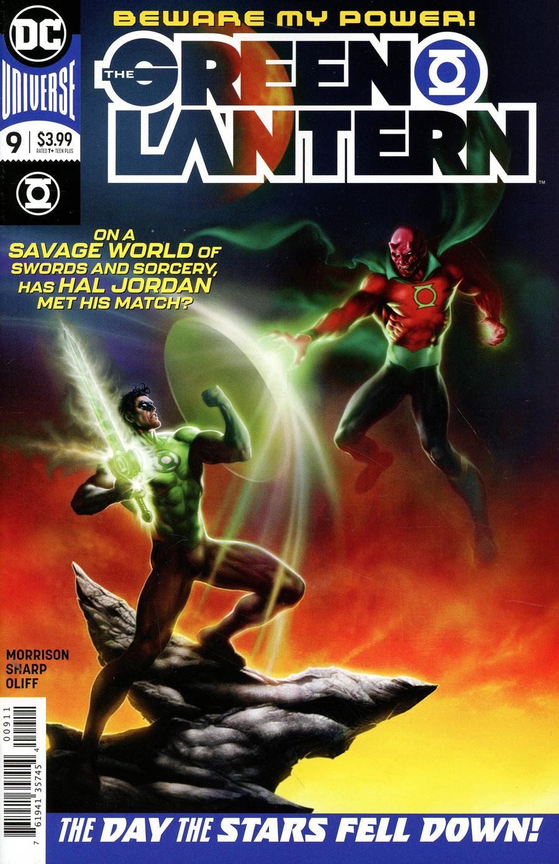 Green Lantern Vol 6 #9 Cover A Regular Liam Sharp Cover