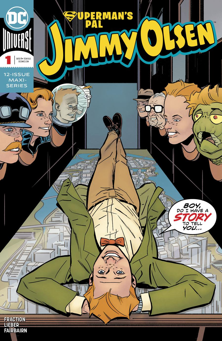 Supermans Pal Jimmy Olsen Vol 2 #1 Cover A Regular Steve Lieber Cover
